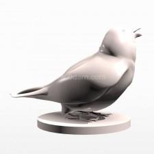 03麻雀 鸟类 动物 3D模型