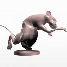 04卡通鼠 3d模型