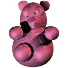 北极熊 玩偶卡通00690新