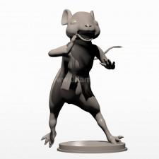 08卡通小鼠 3d模型