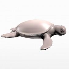 休息 海龟 鱼类 动物 3d模型