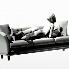 38沙发少女