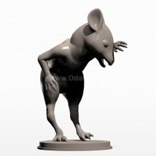 02卡通小鼠 3d模型