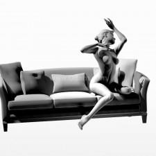 21沙发少女