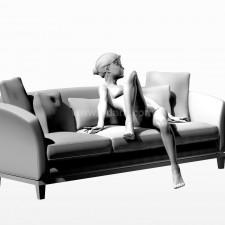 22沙发少女