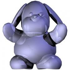 兔 玩偶卡通00707新