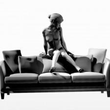 17沙发少女