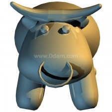 牛 玩偶卡通00667新