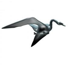 飞跃 鸟 3d模型 obj文件