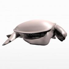 吃 海龟 鱼类 动物 3d模型