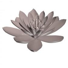 睡莲01 水生植物 3D模型