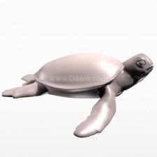 游 海龟 鱼类 动物 3d模型