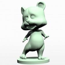 07卡通小熊熊 3d模型