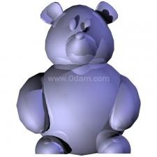 熊 玩偶卡通00674新