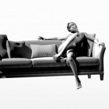 19沙发少女