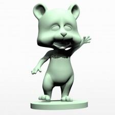 04卡通小熊熊 3d模型