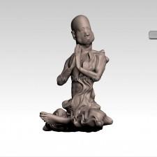 过江 十八罗汉 3D建模