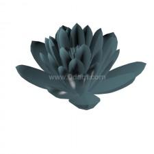 睡莲02 水生植物 3D模型
