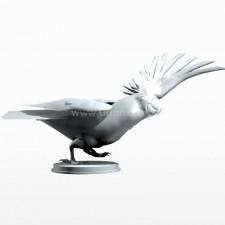 03葵花鹦鹉 鸟类 动物 3D模型
