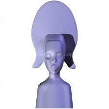 雕塑00239新