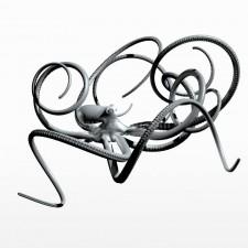 舞 章鱼 鱼类 动物 3d模型