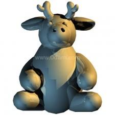 鹿 玩偶卡通00700新