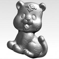 虎 虎虎生威  十二生肖 3D模型