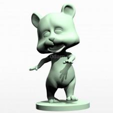 05卡通小熊熊 3d模型