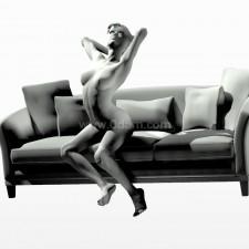33沙发少女