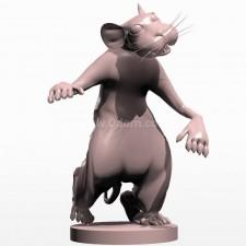 02卡通鼠 3d模型