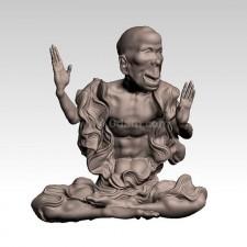 欢喜 十八罗汉 3D建模