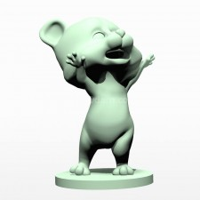 06卡通小熊熊 3d模型