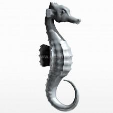 正姿 海马 鱼类 动物 3d模型