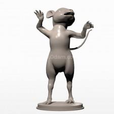 03卡通小鼠 3d模型