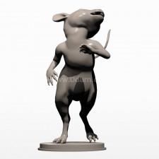 04卡通小鼠 3d模型