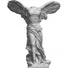 胜利女神 石膏像 3D扫描模型