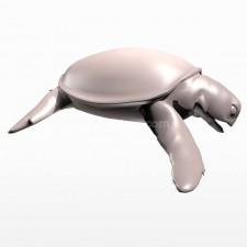 食 海龟 鱼类 动物 3d模型