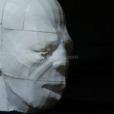 3D打印男头像(材料PLA)