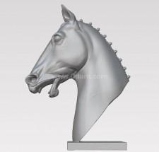 马头 3D建模