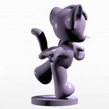 02卡通小熊 3d模型